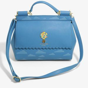 Loungefly Disney Pixar Up Clouds Crossbody Bag
